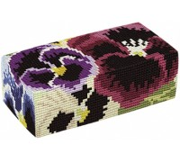 Pansies Tapestry Doorstop - D1762