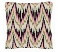 Bargello in Peach Geometric Tapestry - T1789