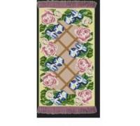Rose Lattice Tapestry Rug - R1778