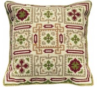 Sparsholt Chunky Tapestry Cushion - C1003