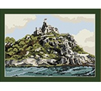 St Michaels Mount Tapestry - T1545