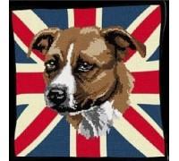 Staffordshire Bull Terrier Tapestry - T2022