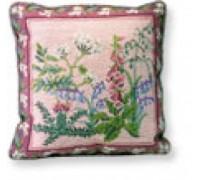 Wildflowers Tapestry Cushion - C351