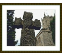 8th Century Celtic Cross - Chart or Kit
