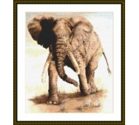 African Elephant - Kit or Chart