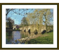 Bakewell Medieval Bridge - Chart or Kit