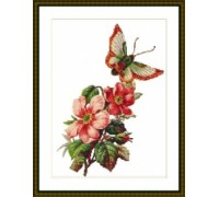 Butterfly Blossom - Chart or Kit