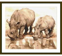 White Rhino - Chart or Kit