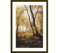 Woodland Scene - Chart or Kit