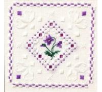 Hardanger Violets - SM911