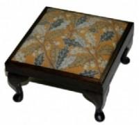 Gold Acorn Footstool Tapestry - NG09