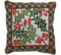 Holly Woodland Sampler Tapestry - WS05