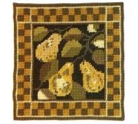 Pear Woodland Sampler Tapestry - WS08