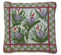 Saffron Herb Garden Sampler Tapestry - HGS06