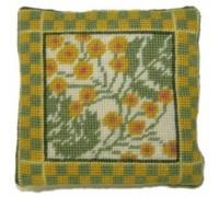 Tansy Herb Garden Sampler Tapestry - HGS08