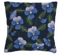 Hyacinth Pansy Herb Pillow - HP44 - Country Garden Collection