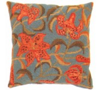 Tiger Lily Herb Pillow - HP10 - Floral Collection