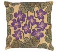 Violet Herb Pillow - HP04 - Floral Collection