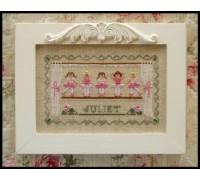Little Ballerinas Chart - 07-2371