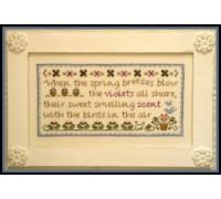 Spring Violets Chart - 07-1188