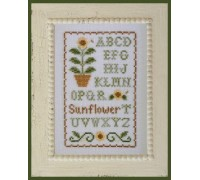 Sunflower Sampler Chart - 06-2203