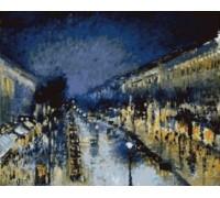 Boulevard Montmartre, Night - PIS-13.1