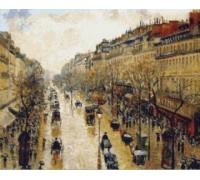 Boulevard Montmartre Rainy Day - PIS-14.1