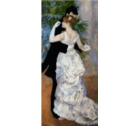 City Dance by Renoir - Chart or Kit