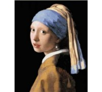 Girl with a Pearl Earring - Chart or Kit
