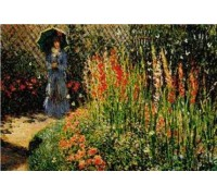 Gladioli by Monet - Chart or Kit