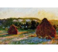 Haystacks, End of Summer - Chart or Kit