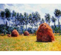 Haystacks at Giverny - Chart or Kit