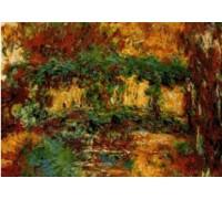 Japanese Bridge by Monet - Chart or Kit