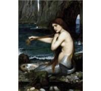 Mermaid by Waterhouse - Chart or Kit