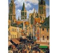 Old Market at Rouen - PIS-10