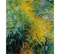 Path Through the Irises - Chart or Kit