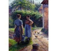 Peasants Chatting - PIS-27.1