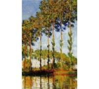 Poplars in Autumn - Chart or Kit