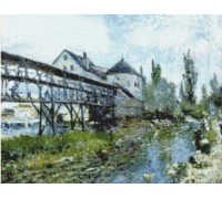 Provencers Mill at Moret - Chart or Kit