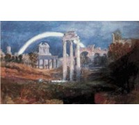 Roman Forum with Rainbow - Chart or Kit