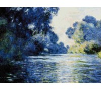 Seine at Giverny - Chart or Kit