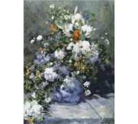 Spring Bouquet by Renoir - Chart or Kit
