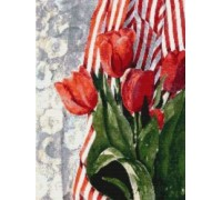 Stripes and Tulips - SZ-01