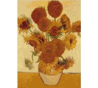 Sunflowers Chart by Van Gogh - Chart or Kit