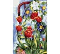 Tulips and Quilt - SZ-11