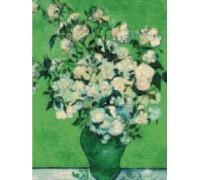 Vase of Roses by Van Gogh - Chart or Kit