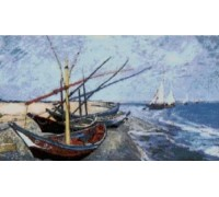 Fishing Boats on the Beach - Chart or Kit