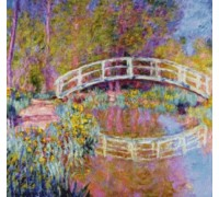 Bridge in Monet's Garden Chart or Kit