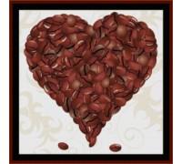 Coffee Valentine - Chart or Kit