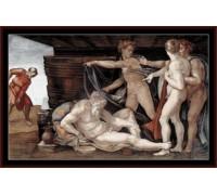 Drunkenness of Noah - Chart or Kit